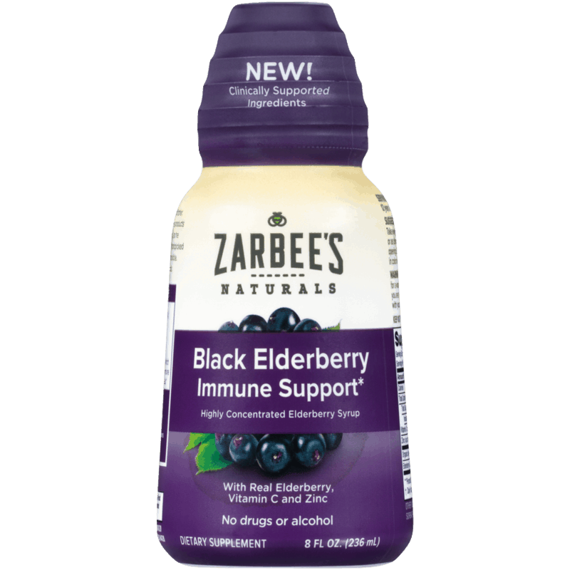 $4.00 for Zarbee's Naturals Adult Black Elderberry Immune Support Syrup. Offer available at CVS Pharmacy.