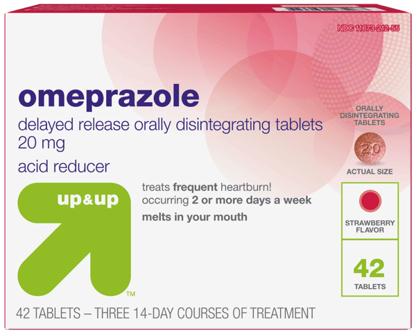 3 00 For Up And Up Omeprazole Acid Reducer Orally