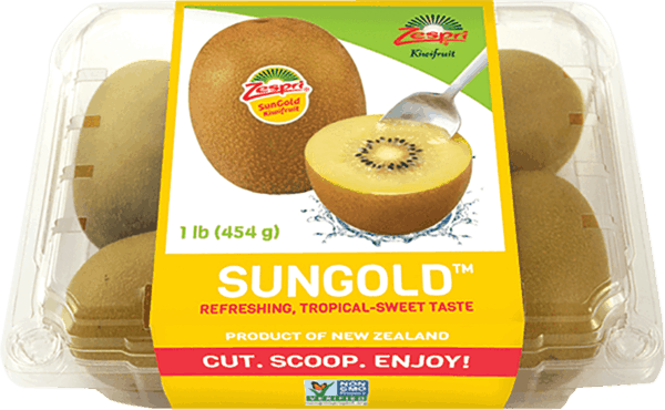 $1.00 for Zespri® SunGold Kiwifruit (expiring on Wednesday, 01/02/2019). Offer available at multiple stores.