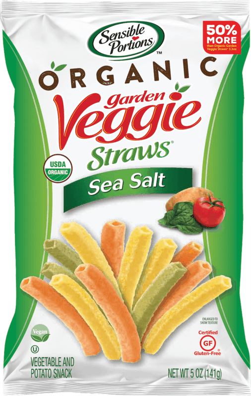 $0.75 for Sensible Portions Veggie Straws (expiring on Wednesday, 10/28/2020). Offer available at Whole Foods Market®.