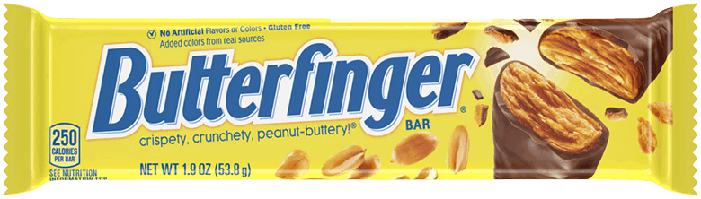 $0.25 for Butterfinger Candy. Offer available at Safeway, Walmart, Albertsons.