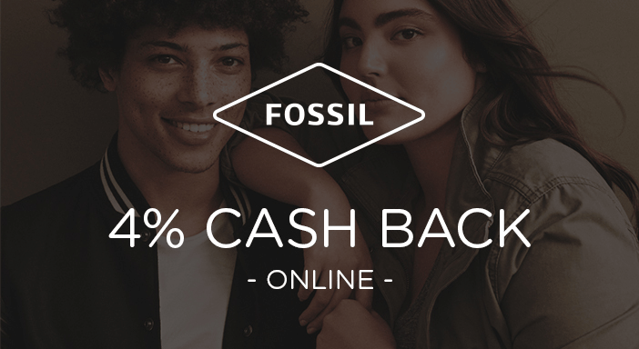 $0.00 for Fossil (expiring on Friday, 10/31/2025). Offer available at Fossil.