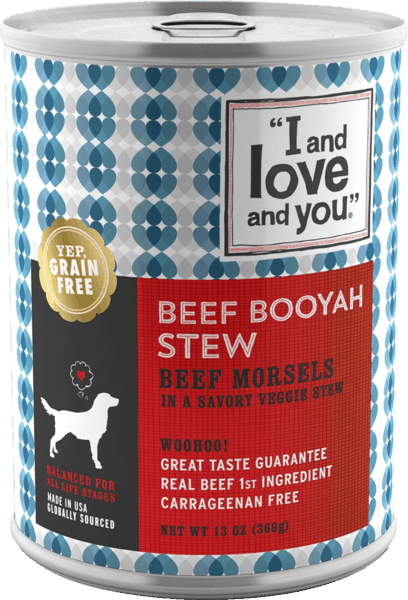 """$0.25 for """"I and Love and You""""® Dog Wet Food (expiring on Sunday, 09/02/2018). Offer available at multiple stores."""