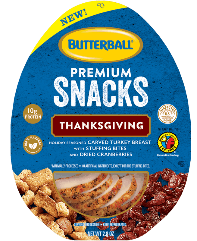 $0.75 for Butterball® Premium Snacks (expiring on Thursday, 04/30/2020). Offer available at ShopRite, Lowes Foods, Jewel-Osco, Woodman's, PriceRite.