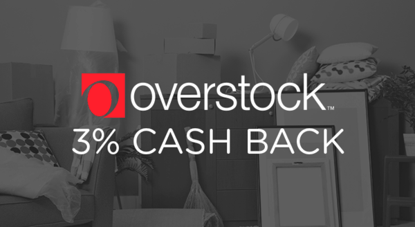 $0.00 for Overstock (expiring on Wednesday, 09/26/2018). Offer available at Overstock.