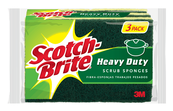 $0.75 for Scotch-Brite® Scrub Sponges. Offer available at Albertsons.