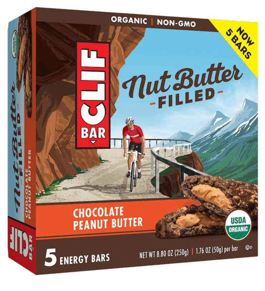 $0.75 for CLIF® Nut Butter Filled Energy Bar (expiring on Saturday, 09/01/2018). Offer available at Walmart.