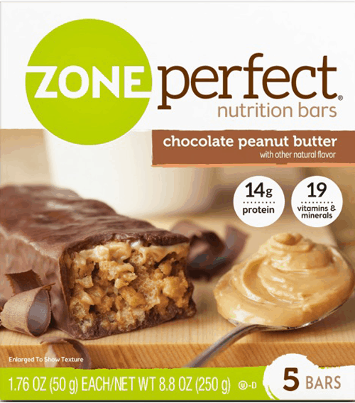 $1.00 for Zone Perfect® Nutrition Bars. Offer available at Walmart.