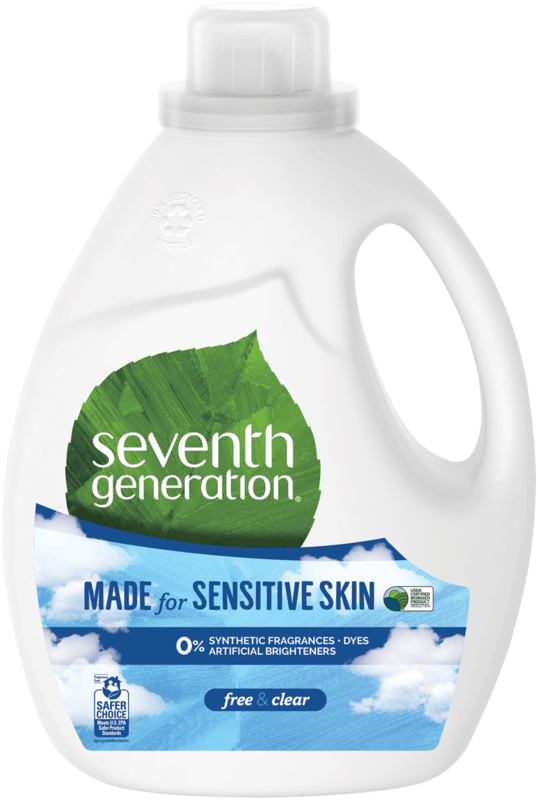 $3.00 for Seventh Generation Liquid Laundry Detergent (expiring on Saturday, 09/19/2020). Offer available at Walmart, Walmart Grocery.