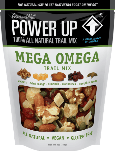 $0.50 for Gourmet Nut™ Power Up Snacks (expiring on Friday, 11/02/2018). Offer available at Walmart.