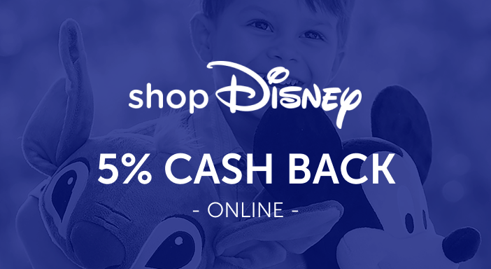 $0.00 for shopDisney (expiring on Monday, 04/19/2021). Offer available at shopDisney.