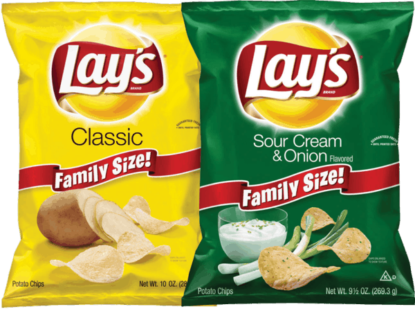 $1.00 for Lay's® Potato Chips (expiring on Wednesday, 11/01/2017). Offer available at multiple stores.