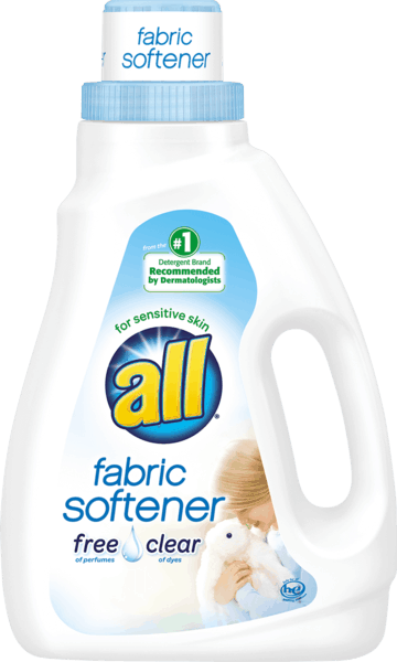 $1.00 for all® free clear Liquid Fabric Softener or Sheets (expiring on Sunday, 12/02/2018). Offer available at multiple stores.
