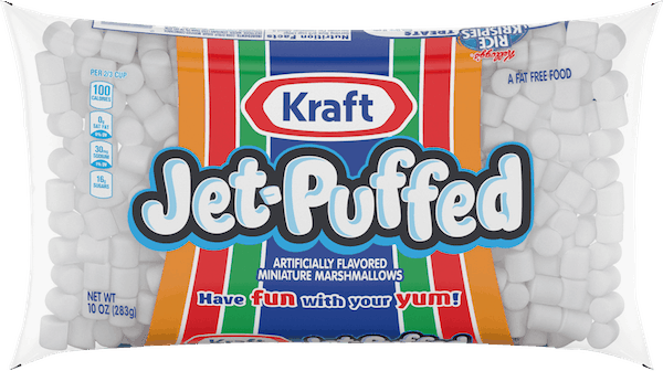 $0.25 for KRAFT® Jet-Puffed Mini Marshmallows (expiring on Thursday, 05/02/2019). Offer available at multiple stores.