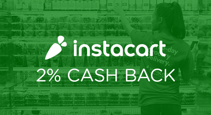 $0.00 for Instacart (expiring on Tuesday, 12/31/2019). Offer available at Instacart.