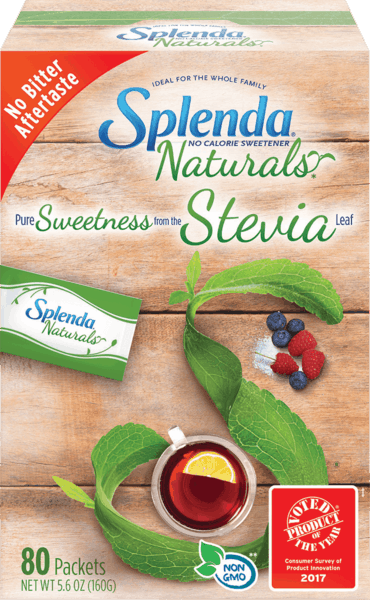 $1.50 for SPLENDA® Naturals Stevia Sweetener Packets (expiring on Saturday, 04/28/2018). Offer available at multiple stores.