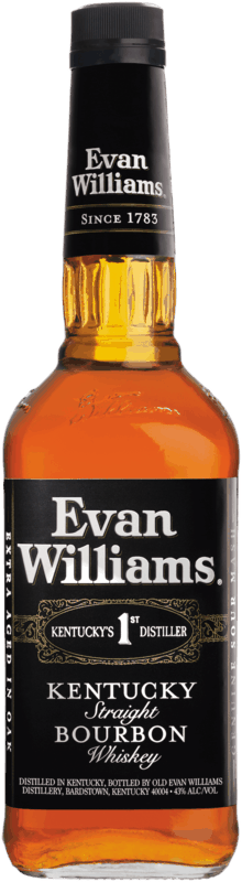 $1.00 for Evan Williams Bourbon (expiring on Saturday, 01/04/2020). Offer available at multiple stores.