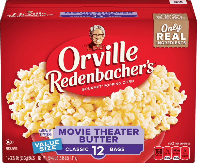 $0.50 for Orville Redenbacher® Popcorn (expiring on Wednesday, 01/01/2020). Offer available at Walmart.