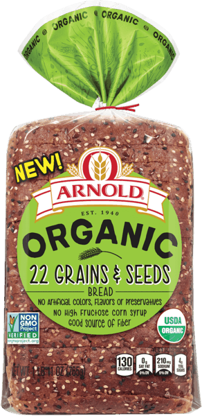 $1.50 for Arnold® Organic Bread (expiring on Sunday, 05/05/2019). Offer available at multiple stores.