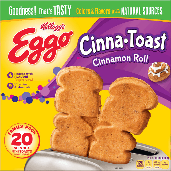 $1.00 for Eggo® Toast (expiring on Monday, 07/02/2018). Offer available at Walmart.
