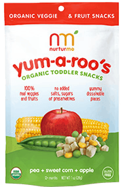 $0.75 for NurturMe Yum-a-roo's Organic Toddler Snacks (expiring on Friday, 03/02/2018). Offer available at multiple stores.