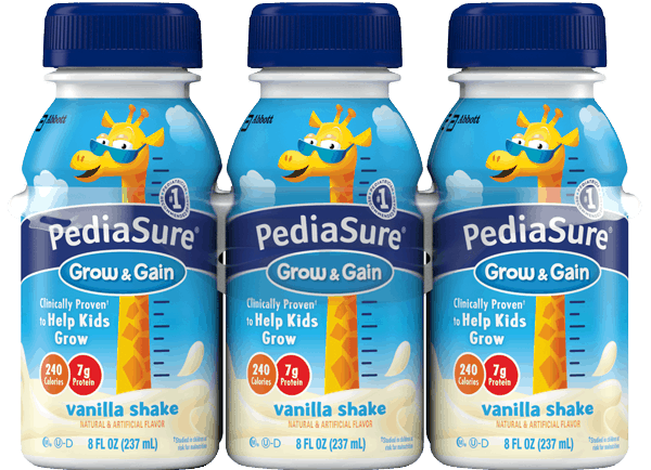 $3.00 for PediaSure® Grow & Gain (expiring on Sunday, 12/31/2017). Offer available at multiple stores.