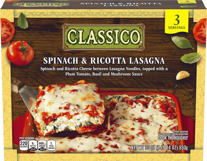 $1.00 for Classico® Frozen Meals (expiring on Tuesday, 10/15/2019). Offer available at multiple stores.