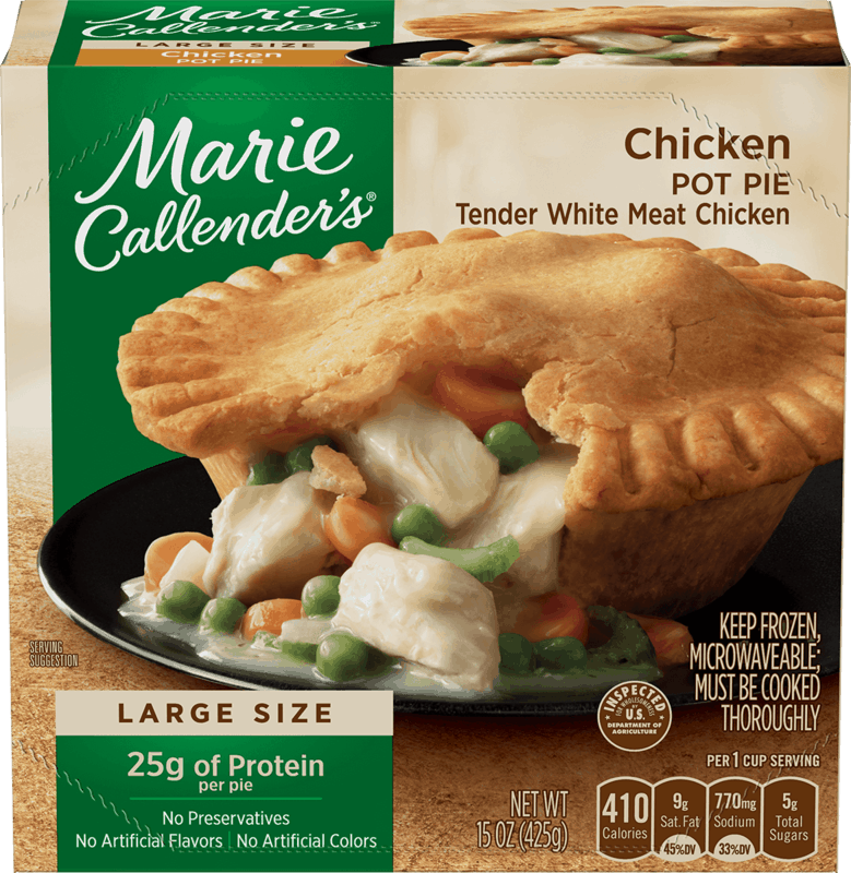 $1.50 for Marie Callender's® Pot Pie. Offer available at Walmart.