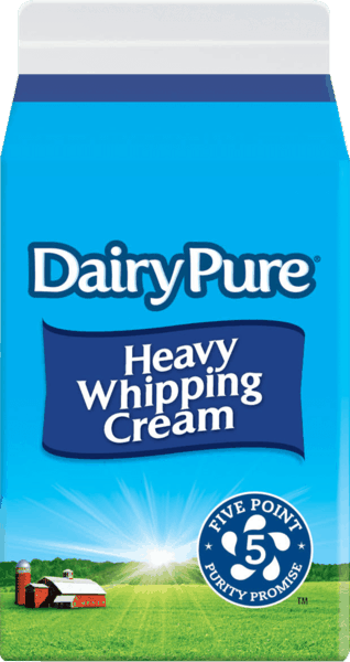 $0.55 for DairyPure® Whipping Cream (expiring on Saturday, 03/17/2018). Offer available at Meijer.