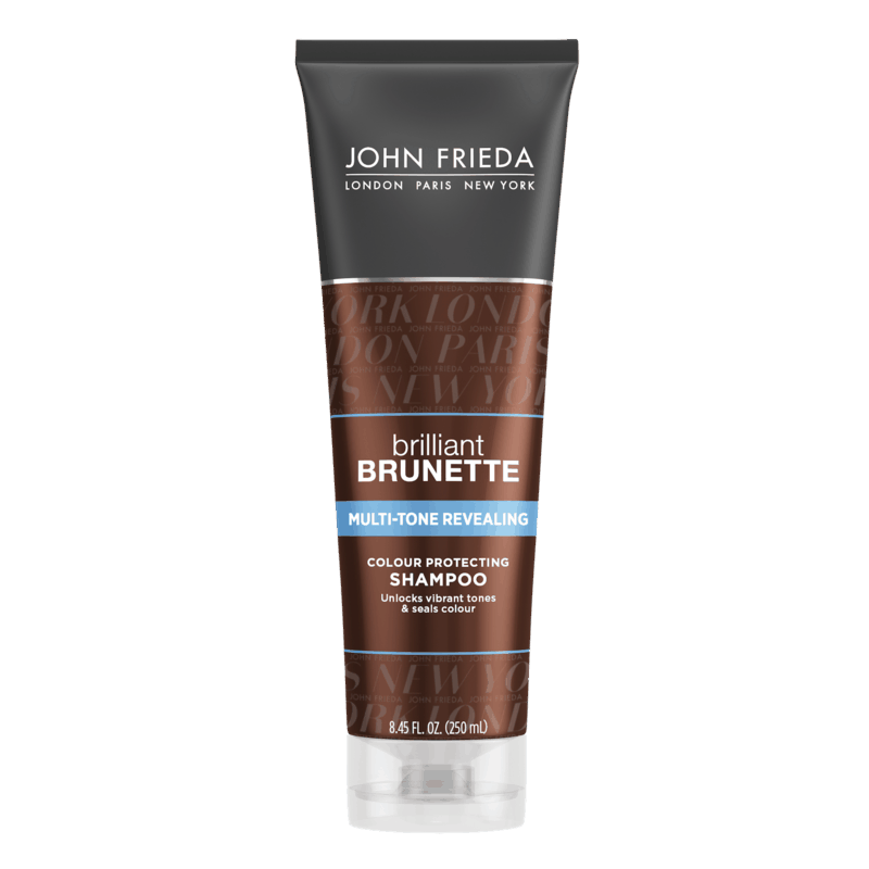 $0.75 for John Frieda® Brilliant Brunette® Multi-Tone Revealing Shampoo or Conditioner (expiring on Saturday, 05/02/2020). Offer available at Walmart.