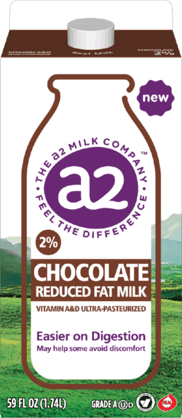 $0.75 for a2 Milk® Chocolate (expiring on Sunday, 08/04/2019). Offer available at multiple stores.