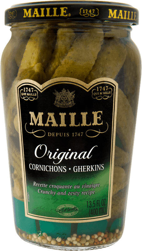 $0.75 for Maille Cornichons (expiring on Wednesday, 05/13/2020). Offer available at multiple stores.