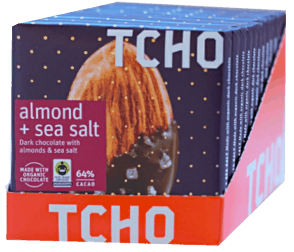 $1.00 for TCHO Chocolate Bars. Offer available at multiple stores.