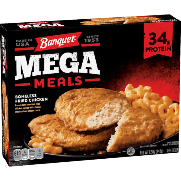$0.50 for Banquet® Mega Meal or Mega Bowl (expiring on Wednesday, 05/02/2018). Offer available at Walmart.