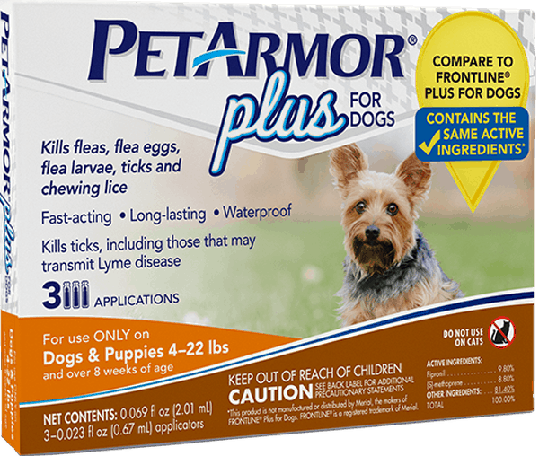 $4.00 for PetArmor® Plus for Dogs. Offer available at Walgreens.