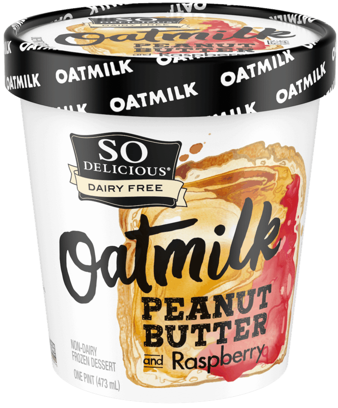 $1.50 for So Delicious Dairy Free Oatmilk Frozen Dessert. Offer available at multiple stores.