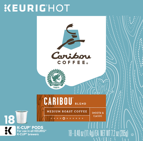 $1.50 for Caribou Coffee® (expiring on Tuesday, 04/02/2019). Offer available at Walmart.