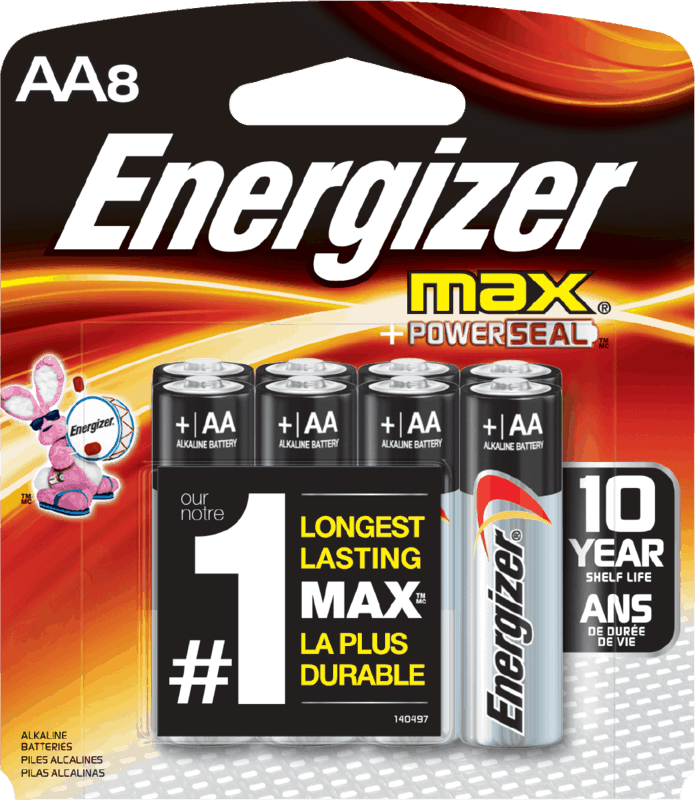 $1.00 for Energizer® Batteries. Offer available at multiple stores.