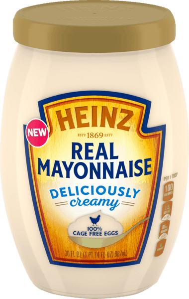 $0.50 for Heinz® Real Mayonnaise. Offer available at multiple stores.