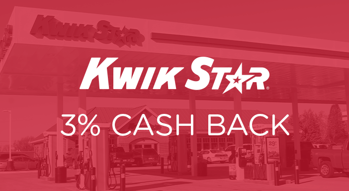 $0.00 for Kwik Star (expiring on Tuesday, 12/31/2019). Offer available at Kwik Star.