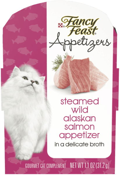 $0.50 for Fancy Feast® Appetizers (expiring on Tuesday, 04/02/2019). Offer available at Publix, H-E-B, PetSmart, DeMoulas Market Basket.