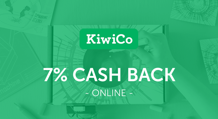 $0.00 for KiwiCo (expiring on Sunday, 08/31/2025). Offer available at KiwiCo.