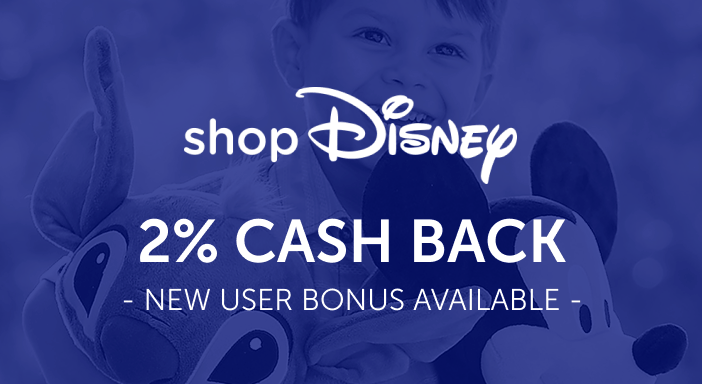 $0.00 for shopDisney (expiring on Wednesday, 04/30/2025). Offer available at shopDisney.