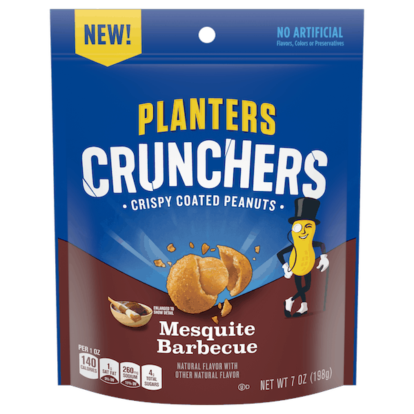 $1.00 for Planters® Crunchers (expiring on Wednesday, 01/02/2019). Offer available at multiple stores.