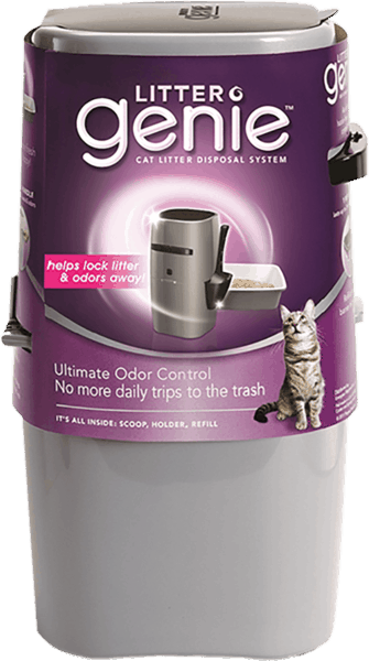 $3.00 for Litter Genie® Cat Litter Disposal System (expiring on Saturday, 07/22/2017). Offer available at Target.