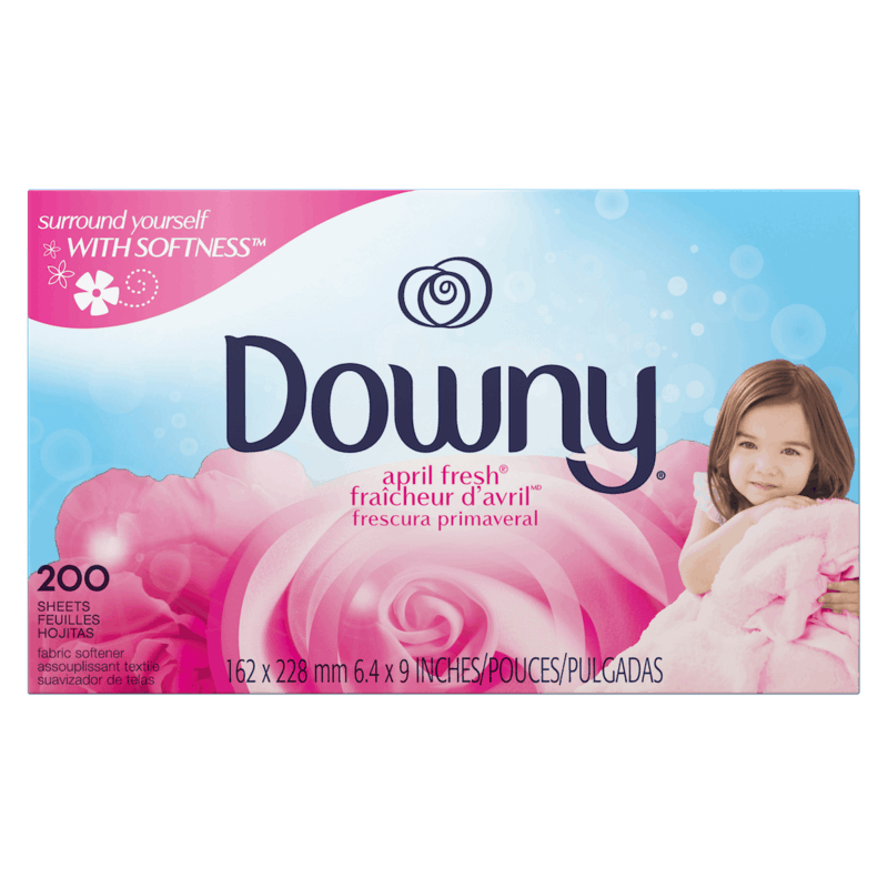 $0.50 for Downy Dryer Sheets (expiring on Friday, 12/11/2020). Offer available at Walmart, Walmart Grocery.