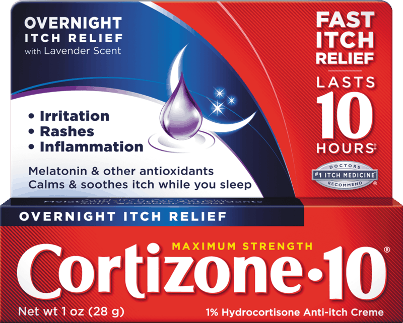 $1.00 for Cortizone 10 Overnight Itch Relief (expiring on Saturday, 10/31/2020). Offer available at multiple stores.