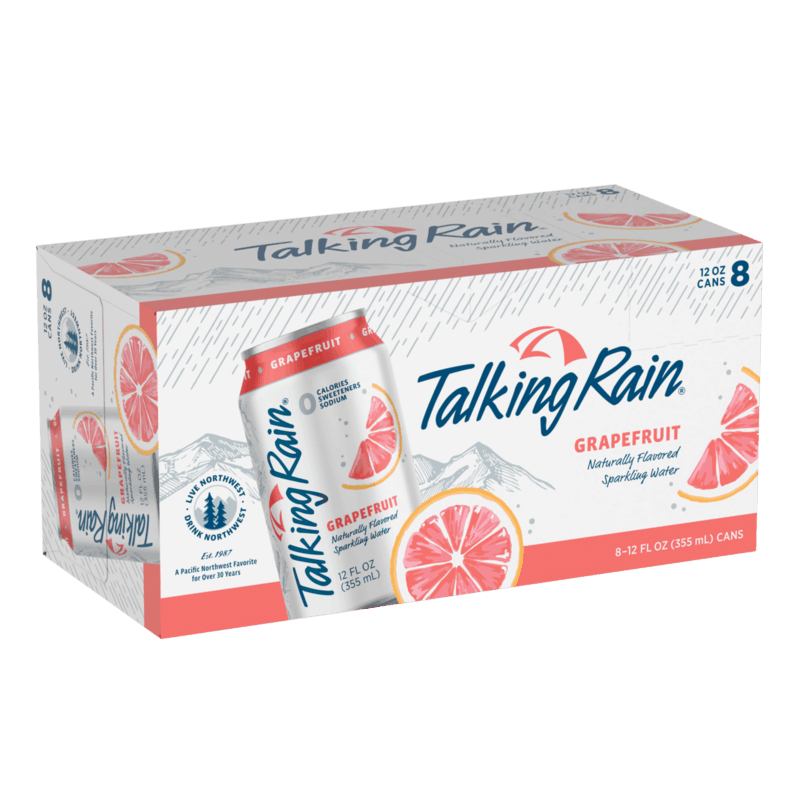 $0.75 for Talking Rain® Sparkling Water (expiring on Sunday, 02/02/2020). Offer available at multiple stores.