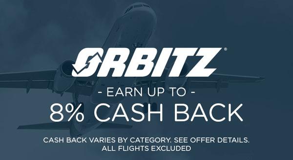 $0.00 for Orbitz (expiring on Monday, 08/26/2019). Offer available at Orbitz.