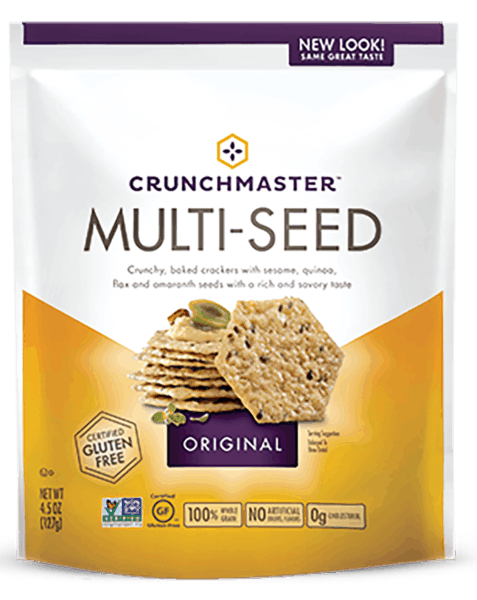 $1.00 for Crunchmaster® Crackers (expiring on Thursday, 08/02/2018). Offer available at Walmart.